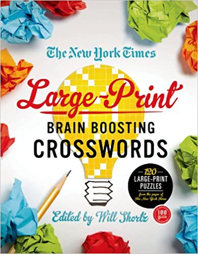 German audiobook download free The New York Times Large-Print Brain-Boosting Crosswords: 120 Large-Print Puzzles from the Pages of The New York Times PDF ePub iBook