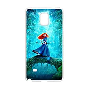 Samsung Galaxy Note 4 Cell Phone Case White Disneys Brave as a gift P9191800