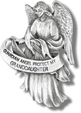 Visor Clip of Guardian Angel 2 1/2