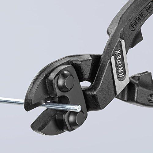 KNIPEX 71 41 200 CoBolt Compact Bolt Cutter, angled black atramentized plastic coated 200 mm