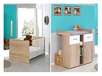 Sparset Babyzimmer Kinderzimmer Komplett Set Elisa In Eiche Sonoma