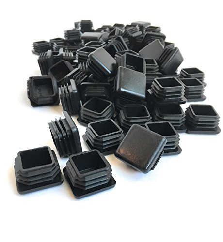 (100 Pack) (14-20 GA) Square Plastic Polyethylene Plug 1