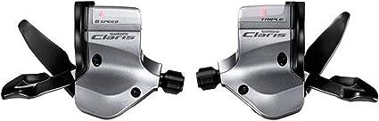 Shimano Claris Flat Bar SL-2400 2403 3x8 Speed Shifter Lever Set 2-Way Release