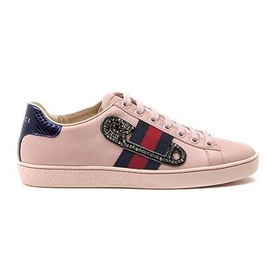 d3d929ec1cf GUCCI Women s Gymnastics Shoes pink Size  7 UK-Manufacturer Sizes 39 ...