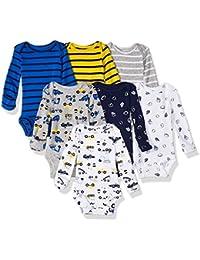 Baby Girls' 7-Pack Long-Sleeve Bodysuits