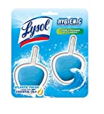 Lysol Hygienic Automatic Toilet Bowl Cleaner, Atlantic Fresh, 2ct