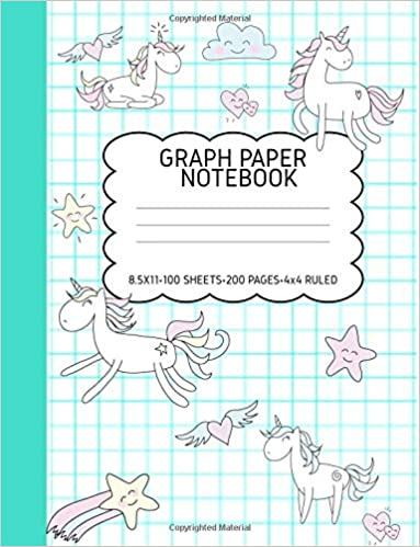 graph paper notebook quad ruled composition book 4x4 large 8 5 x11