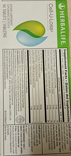 Herbalife Cell U Loss® Weight Loss Enhancer Natural Detoxification and Healthy Elimination of Water