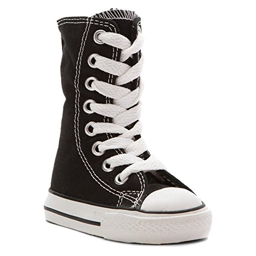 Converse Boy's Chuck Taylor Knee High Side Zip Infant/Tod...