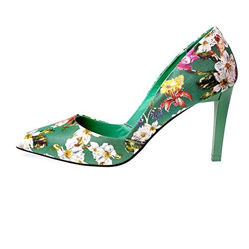 Sandales AdeeSu Compensées 36 Femme Vert Green EU 5 wwUOqrdz
