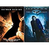 Christopher Nolan Batman Collection (Batman Begins, The Dark Knight 2 Disc Special Edition)