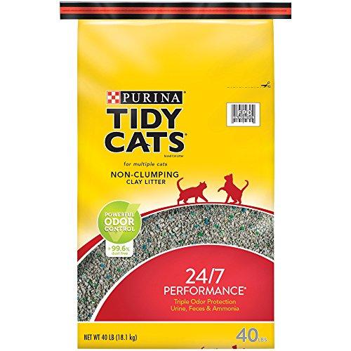 Bag Clumping Cat 40lb Litter (TIDY CATS LONG LASTING ODOR CONTROL 40LB TOUGH BAG)