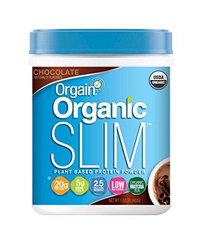 Orgain Organic Slim Weight Loss Powder, Chocolate, 1.02 Pound, 1 Count 851770003872