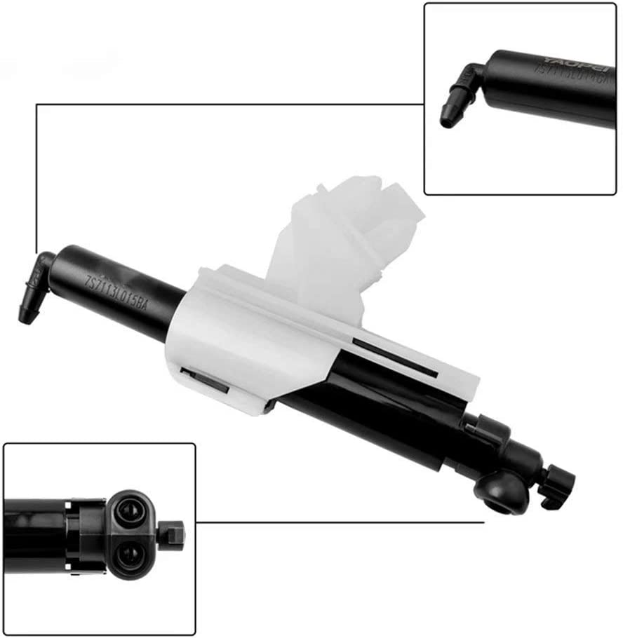 Moligh doll 7S71-13L015-BA Benekar Headlight Washer Nozzle Bracket Telescopic Pump for Mondeo