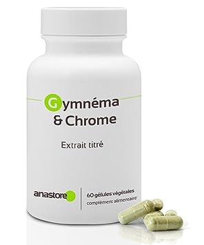 Gimnema y Cromo* 400 mg / 60 cápsulas * Ácido gimnémico 100 mg * Para