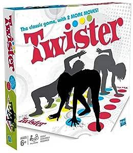Hasbro Hasbro Twister Classic Game 98831, Multi-Colour