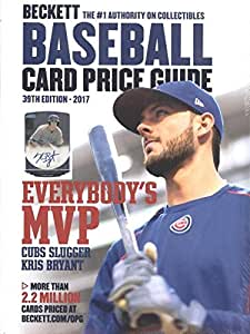 2017 Beckett Annual Baseball Card Price Guide #39 (Kris Bryant on the Cover)