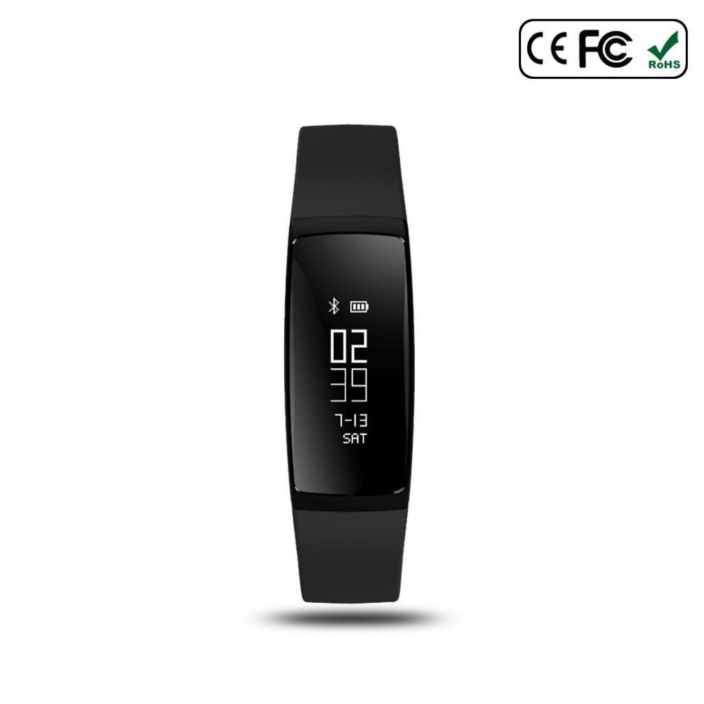 Fitness Armband Blautooth Herzfrequenz smart bracelet,Kalorienzähler,Touch Screen,Schrittzähler,sport uhr smart bracelet Multi-Sport-Modus für iOS und Android Smartphones