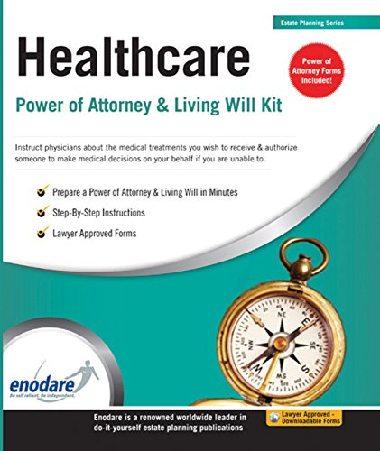 Healthcare Power of Attorney & Living Will Kit Enodare