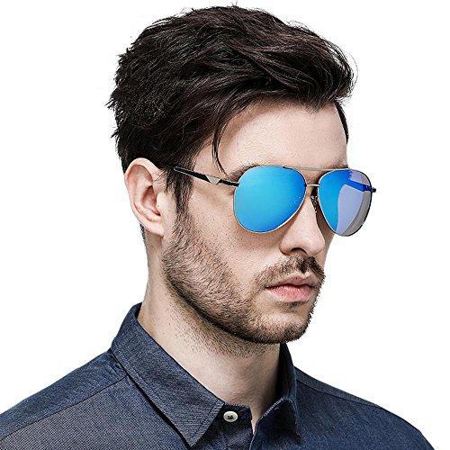 gafas gafas D de hombre Doble color de sol sol Aoligei de gafas electrochapado sol polarizado de de conductor Fwp8xPqTx
