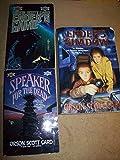 Orson Scott Card 3 Volumes Set: Ender's Game, Speaker For the Dead & Ender's Shadow