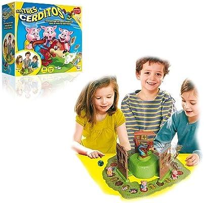 IMC Toys - Juego de los Tres cerditos (43-7673): Amazon.es ...