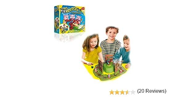 IMC Toys - Juego de los Tres cerditos (43-7673): Amazon.es: Juguetes y juegos