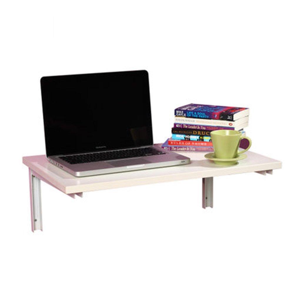 マチョン コンピュータデスク 創造的な折りたたみテーブルコンピュータテーブルダイニングテーブル (色 : 白, サイズ さいず : 60CM*40CM) B07F5ZT2QM 60CM*40CM|白 白 60CM*40CM