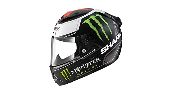 Amazon.com: Shark Race-R Pro Lorenzo Monster Replica Matt (M): Automotive