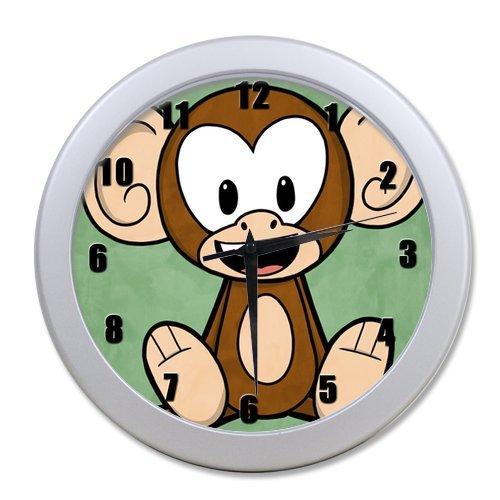 Hot Selling New Stylish Fashion Modern Cool Design Orangutan Monkey Apes Elegant Wall Clock Home Decor