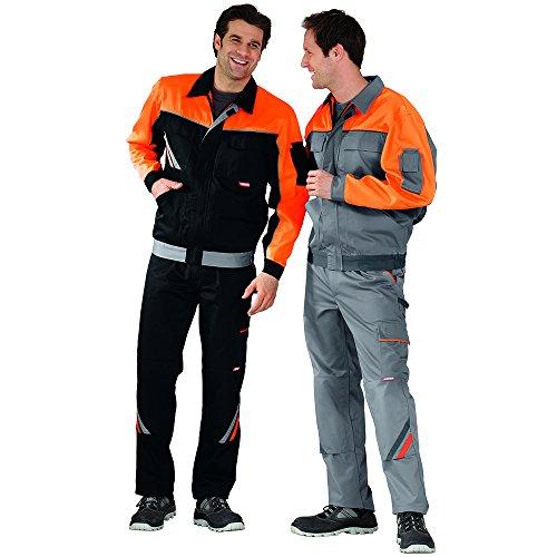 Planam 2410118 Visline V1 Blouson de travail Taille 118 en Zinc/Orange/Ardoise