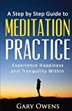 Meditation: Step by Step Guide to Meditation Practice: Experience Happiness and Tranquility Within (Meditation for Beginners, Happiness, Stress relief, Anxiety relief)