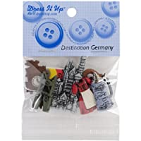 Jesse James (1-Pack) Dress It Up Buttons The Destination Series #3575 Germany 3575-1P