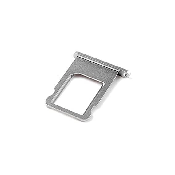 new styles e12b0 0caf1 Ewparts SIM Card Tray Replacement for Iphone 6 4.7 Inch (Grey)