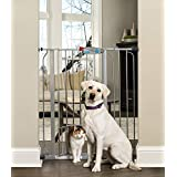 Carlson 41-Inch Extra Tall Gate with Small Pet Door,...