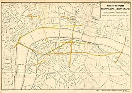 London Road Rail Plans Embankment Charing Cross Queen Victoria
