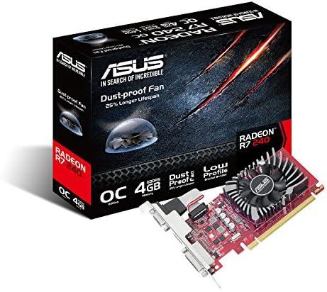 ASUS R7240-O4GD5-L Radeon R7 240 4 GB GDDR5 - Tarjeta gráfica ...