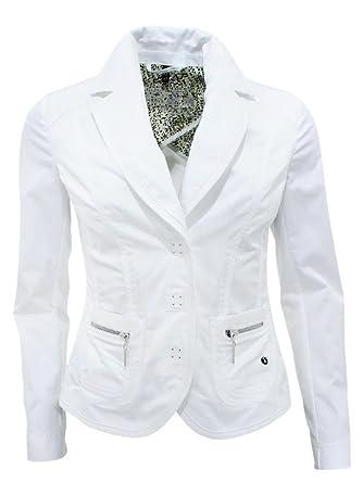 Sportalm Kitzbühel Funny Damen Blazer Jacke Weiß Größe M 38