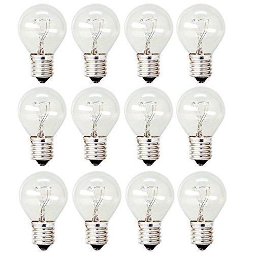 GE Lighting 35156 40-Watt High Intensity Appliance Light S11 1CD Light Bulb (12 ()
