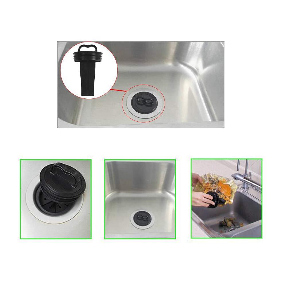 Disposer Tool, Sink Garbage Disposal Strainer Splash Guard Plunger, Scraper, Stopper