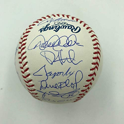 2012 NY Yankees Team Signed Baseball Derek Jeter Mariano Rivera Arod COA - Steiner Sports Certified - Autographed Baseballs