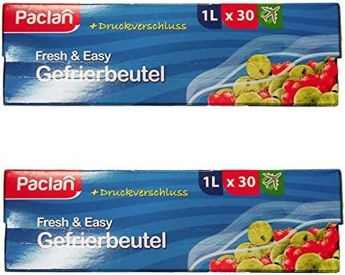 Bolsa para congelados con impresión cierre 1 L, 18 x 20 cm ...
