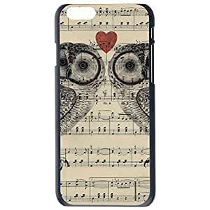 Fashion Custom Owl Design Owls Plastic Hard Case Cover Back Skin Protector For Apple iPhone 6G Plus 5.5 by Alexism Size71