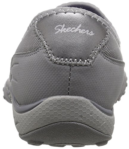 Skechers easy nbsp;allure Breathe Mesh femme Baskets Basses Grey qpqFxC5