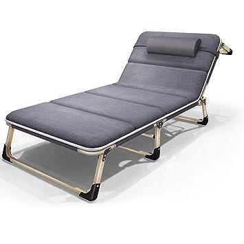 Amazon.com: Silla plegable plegable portátil para cama, cama ...