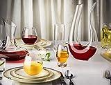 JoyJolt Spirits Stemless Wine Glasses for Red or