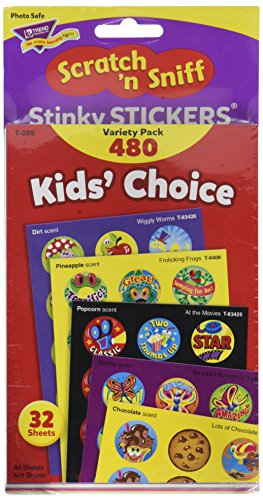 Kids' Choice Stinky Stickers Variety Pack