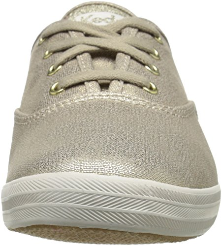 Keds Ch Metallic Canvas, Scarpe Running Donna, Oro (Gold), 37.5 EU