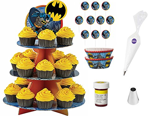 DC Comics Batman Cupcake Bundle of 6 Products