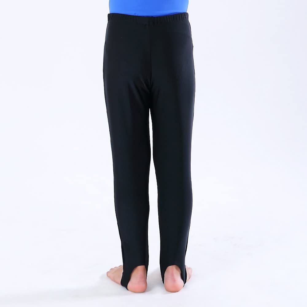 NEW DANCE Boys and Mens Gymnastics Pants Youth Ballet Tights Stirrup Leggings for Yoga Practice Athletic